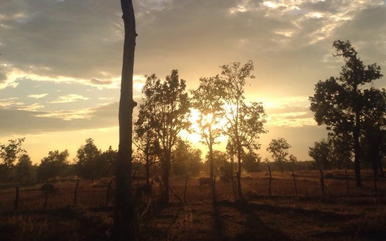 Закат в Исане