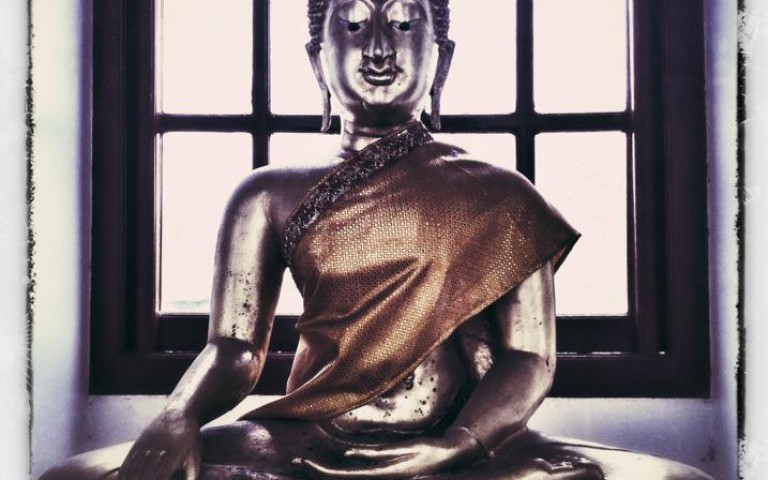 Будда под моим окном №1