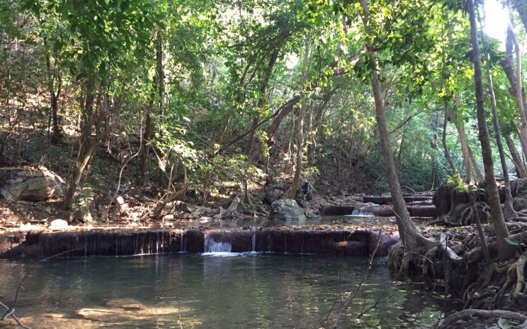 Подножие водопада Erawan