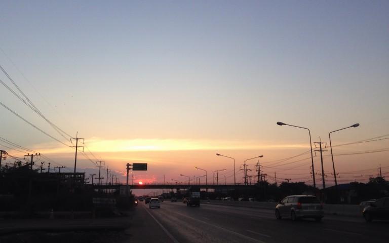 Навстречу закату