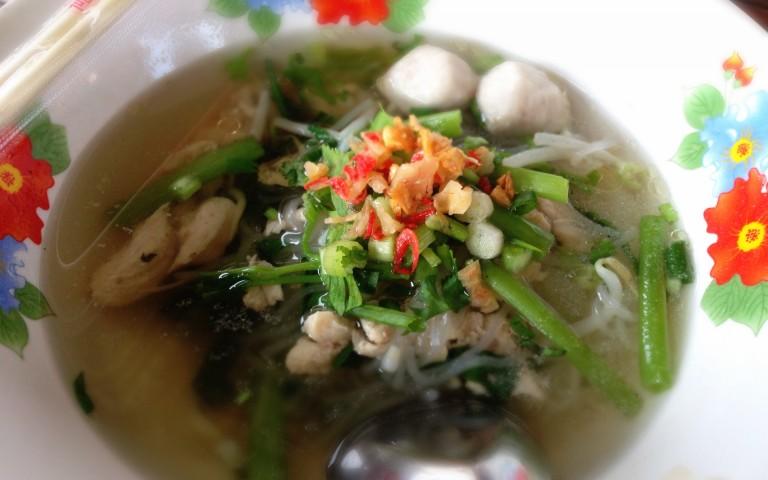 Тайский традиционный суп