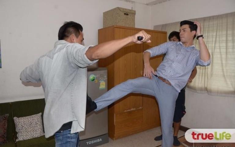 Больно за тайский бокс