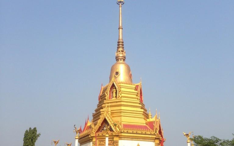 Храмовая буддийская ступа