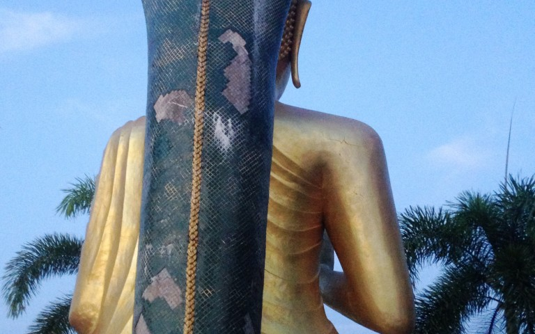 Обратная сторона Будды №3