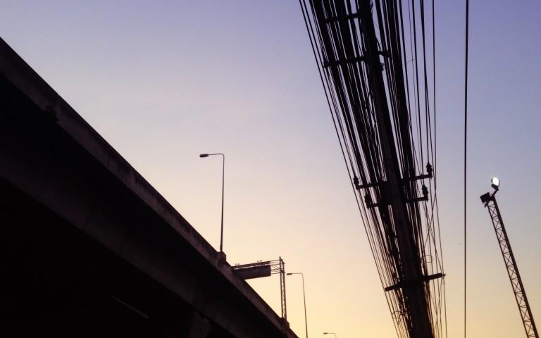 Столбы и провода: духовные опоры №6