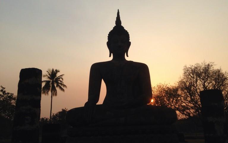 Будда закатный №1