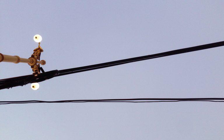 Столбы и провода: духовные опоры №8