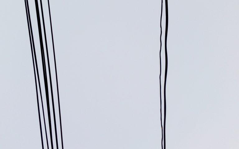 Столбы и провода: духовные опоры №9