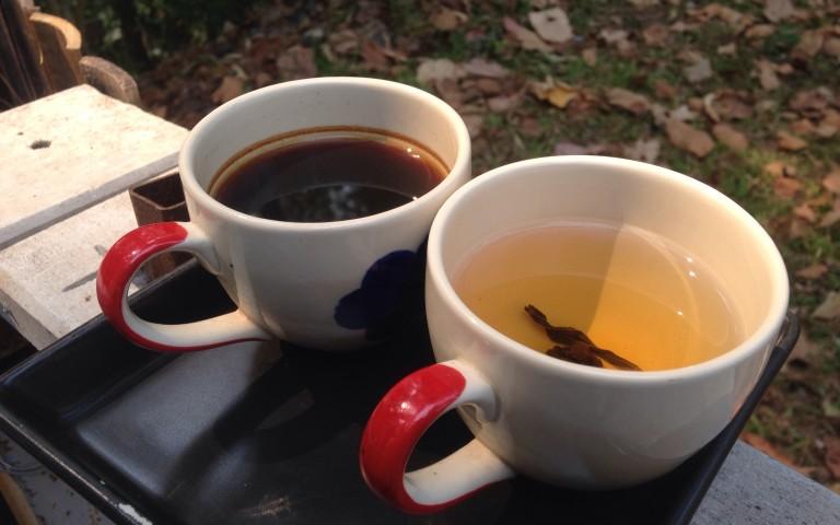 Кофе и чай для духов