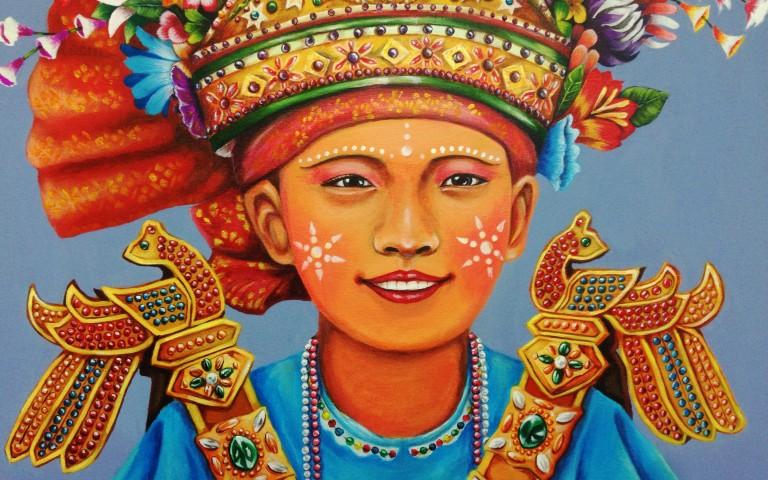 Искусство молодых художников Таиланда #1