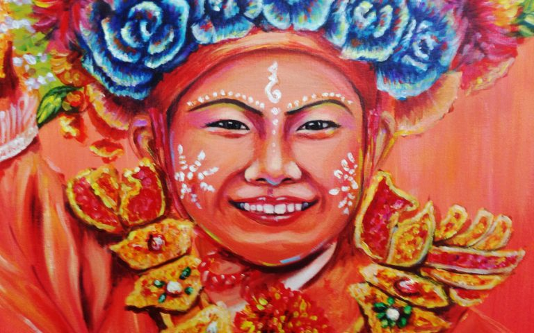 Искусство молодых художников Таиланда #5