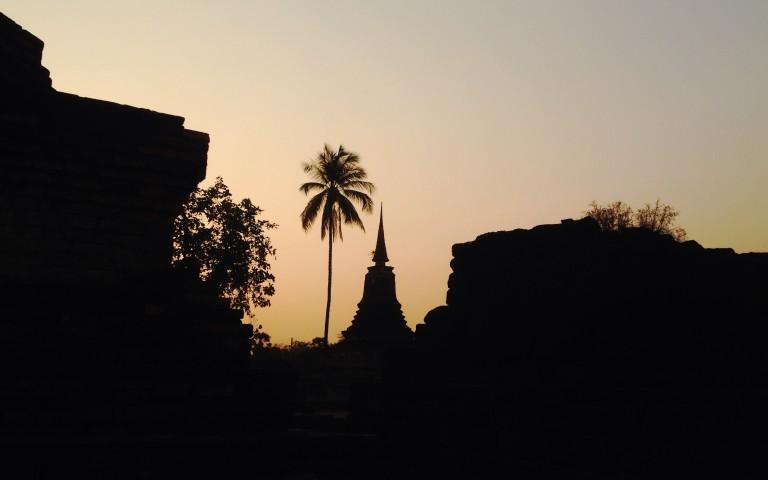Древний Sukhothai #1