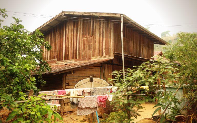 Дом в деревне Яо