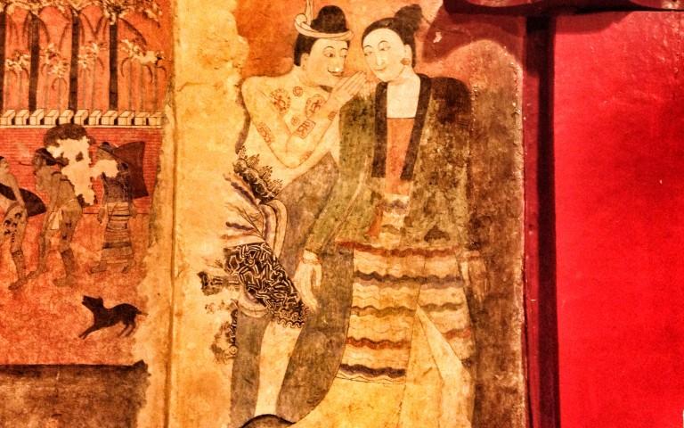 Фрески Wat Phumin