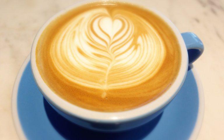 Кофе Flat White в Бангкоке