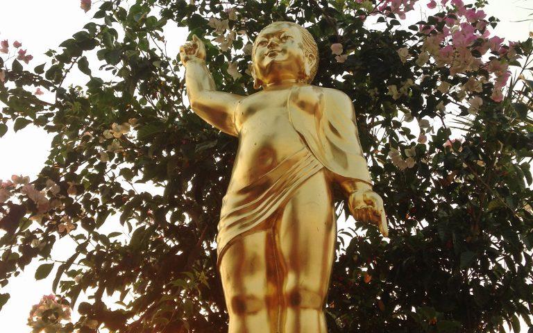 Рождение солнцеликого Будды