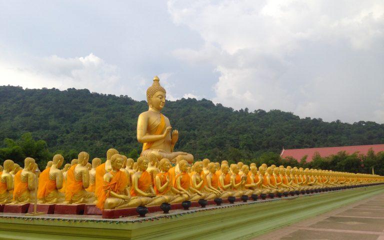 Будда и 1250 монахов 1