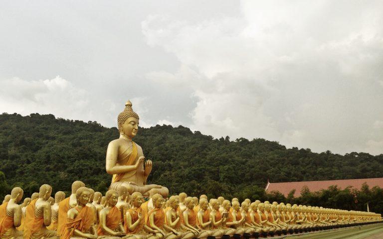Будда и 1250 монахов 4