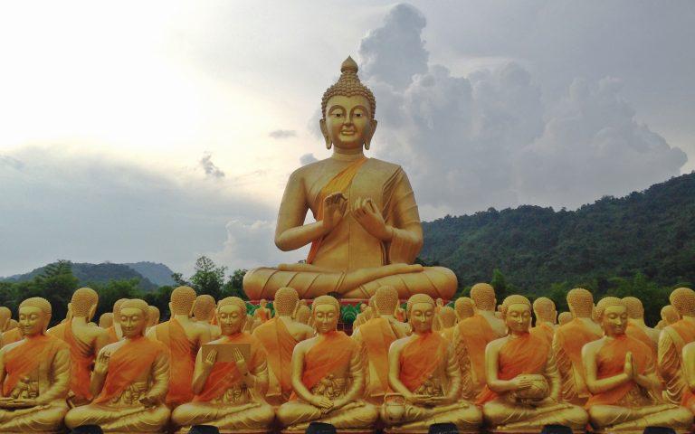 Будда и 1250 монахов 2
