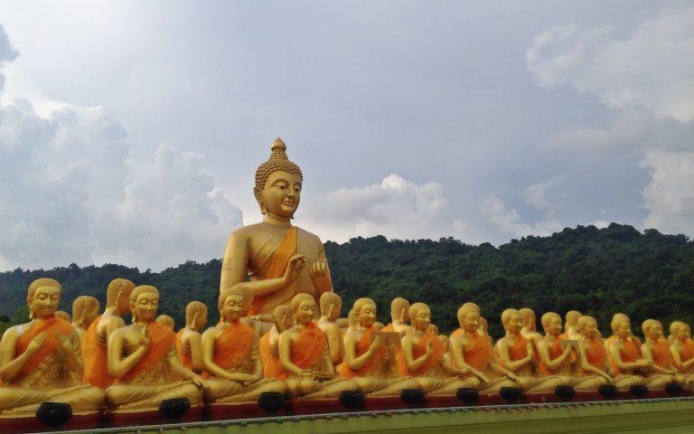 Будда и 1250 монахов 5