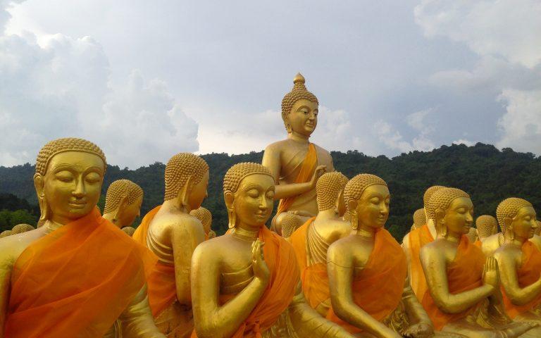 Будда и 1250 монахов 3