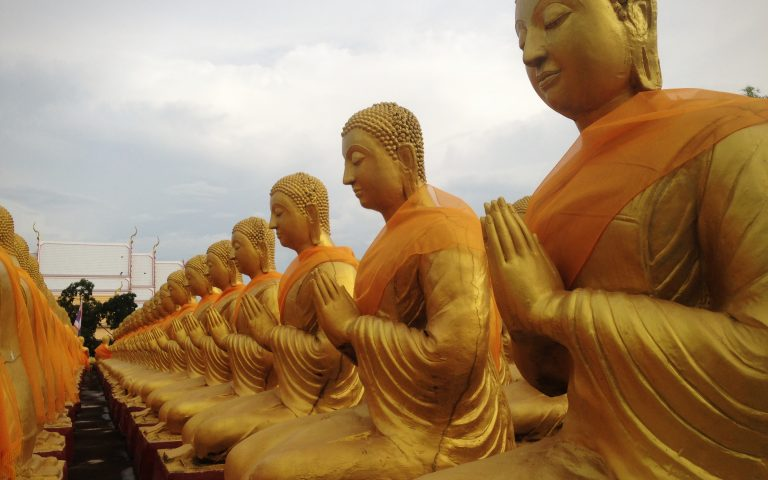 Будда и 1250 монахов 6