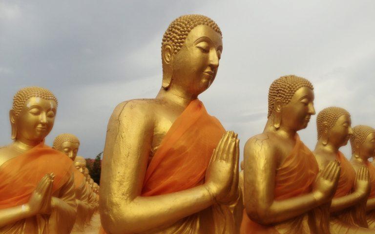Будда и 1250 монахов 8