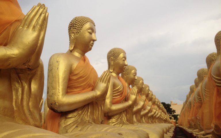 Будда и 1250 монахов 9