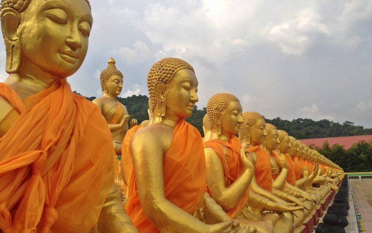 Будда и 1250 монахов 10