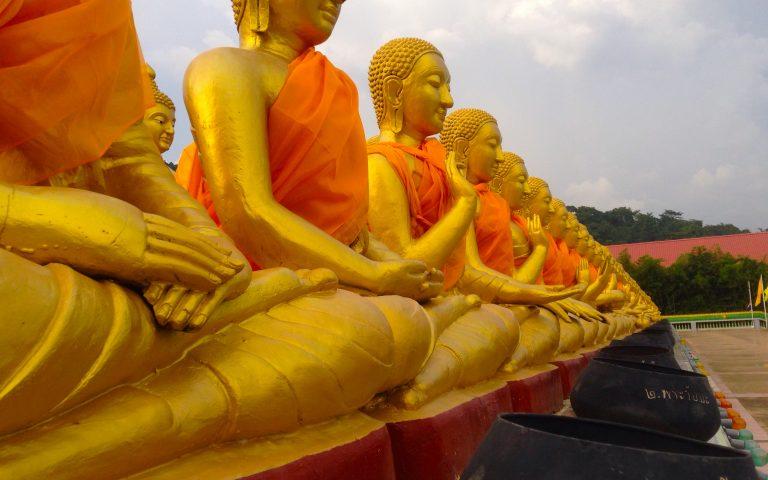 Будда и 1250 монахов 12