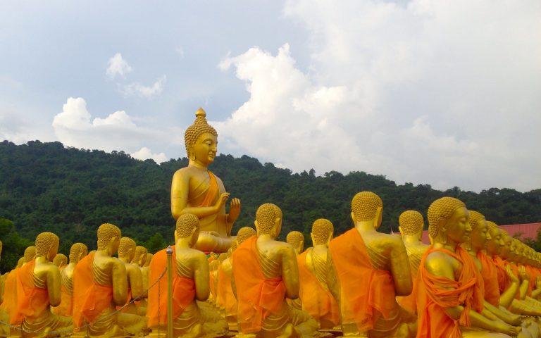 Будда и 1250 монахов 13