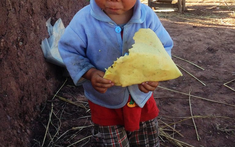 Дети горных племён Таиланда