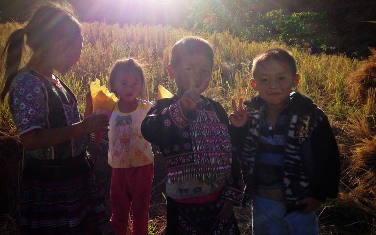Дети горных племён Таиланда 3