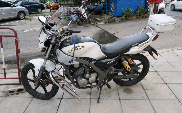 Транспорт полиции Бангкока