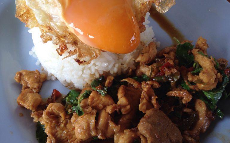 Khao Pad Kra Pao Moo