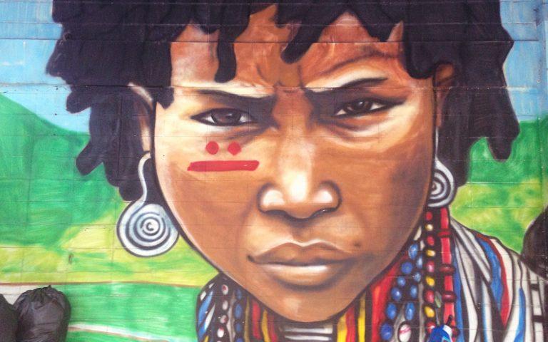 Граффити в Бангкоке
