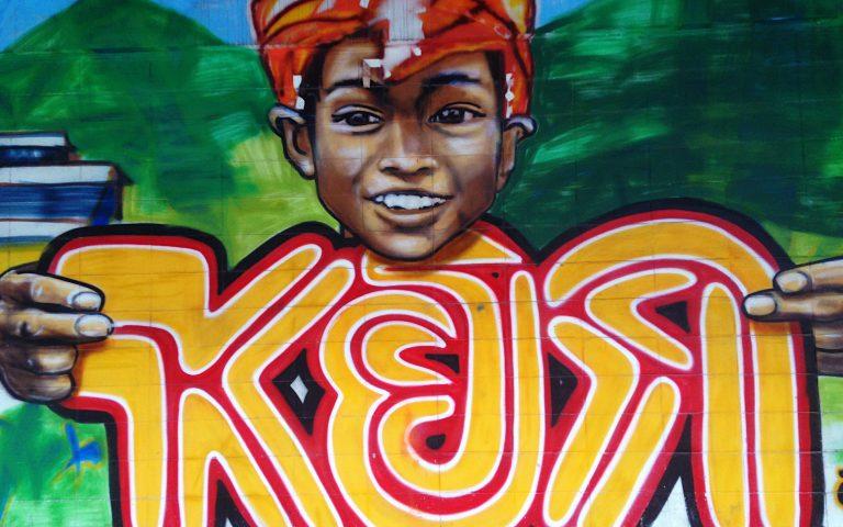 Граффити в Бангкоке 3