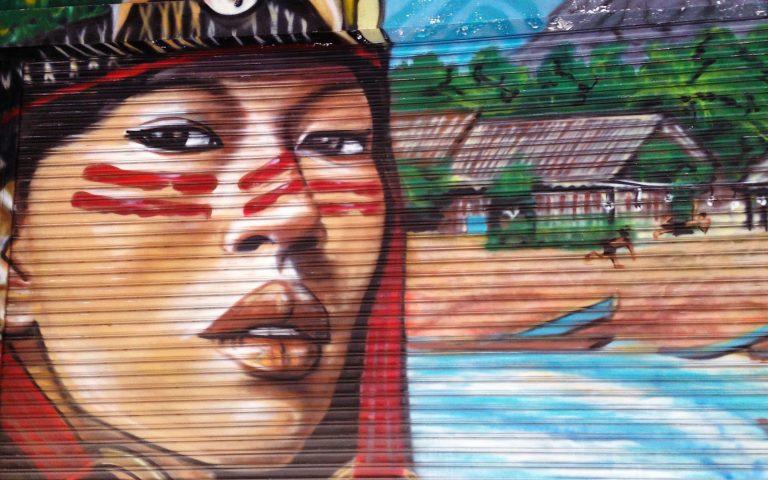 Граффити в Бангкоке 4