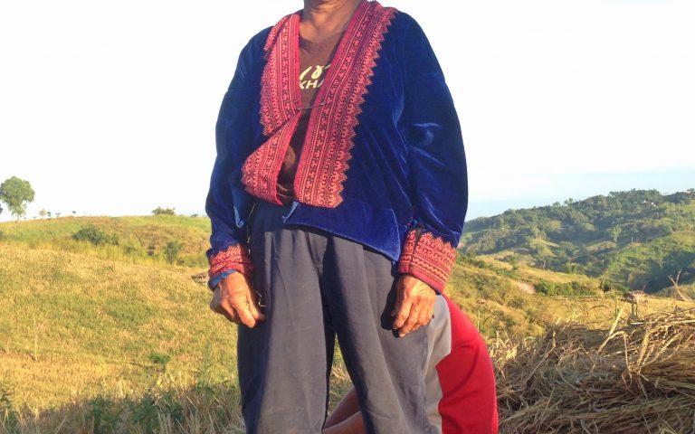 Бабушка из горных племён