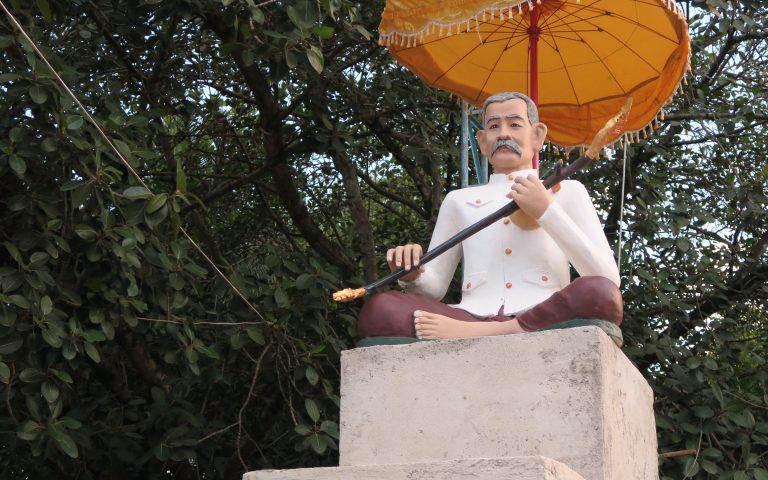 Памятник товарищу Сталину
