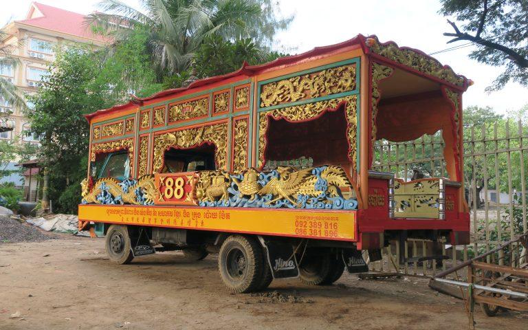 Кхмерский школьный автобус