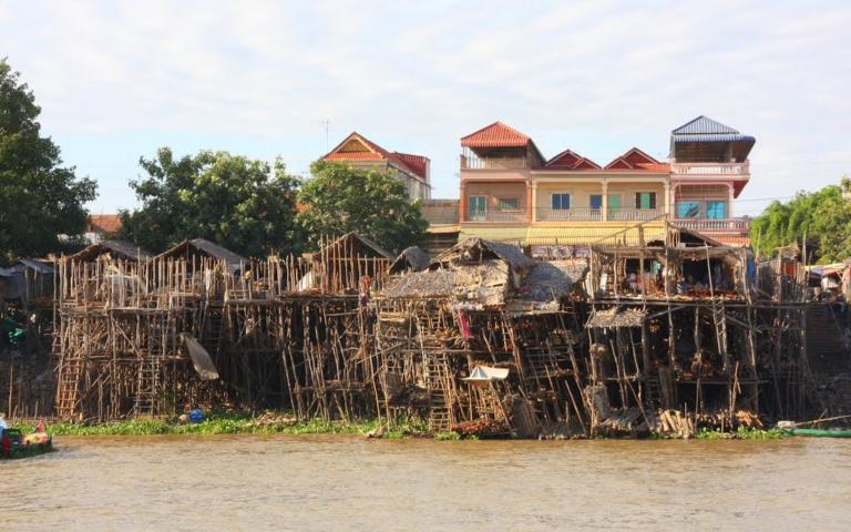 Камбоджа зажиточная и бедная