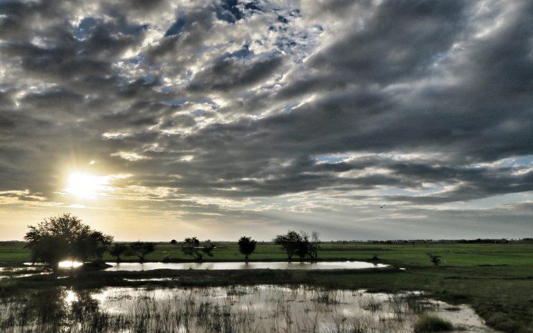 Камбоджа закатная