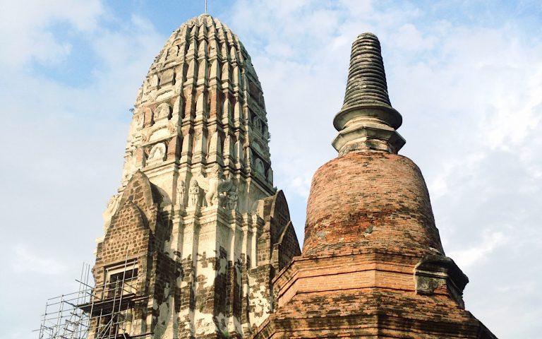 Древний храм Ват Ратчабурана 2