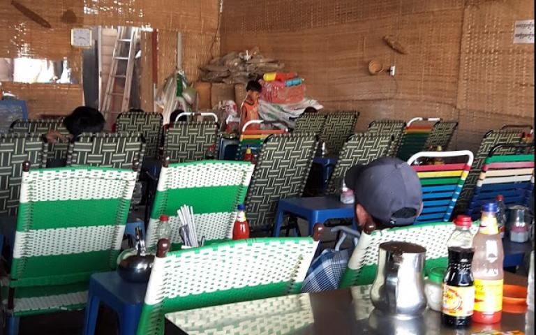 Формат камбоджийского кафе