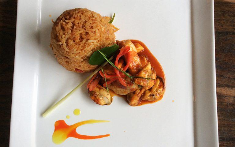 Высокая тайская кухня