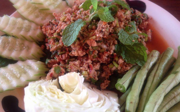 Кухня Исана: Larb Moo
