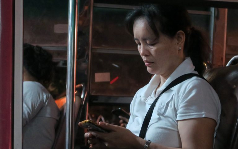 Бангкок автобусный 4