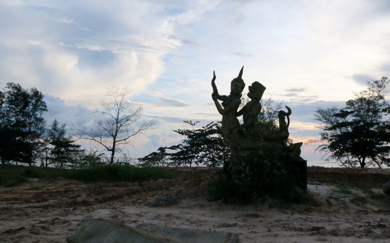 Очумелое камбоджийское искусство