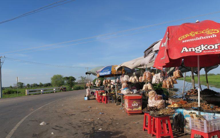 Небольшой провинциальный рынок